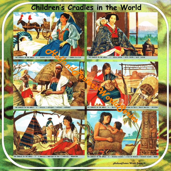 Children's cradles in the World  Holland Posters World Series no 16