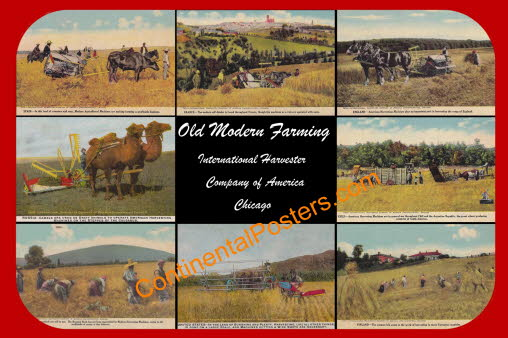 Old Modern Farming b CO 12, Spain, France, England, Russia, Chile, India, USA and Finland.