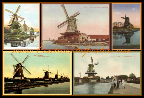 Old Holland Windmills