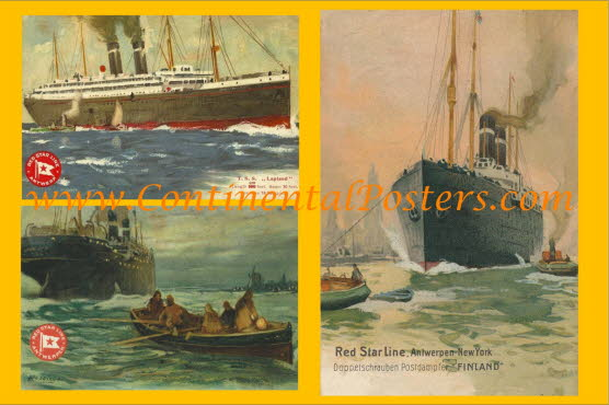 Red Star Steamship poster 2b  C 121 cp