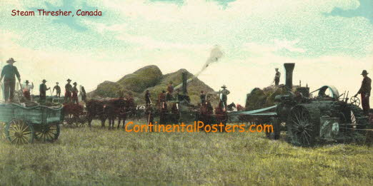 Steam Thresher, Canada h CA 51