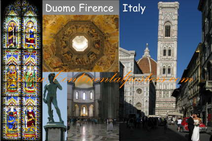 firence duomo / Dome of Firence church poster