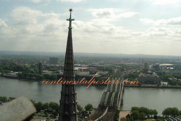 Cologne,  Koeln hohenzollern bridge Germany