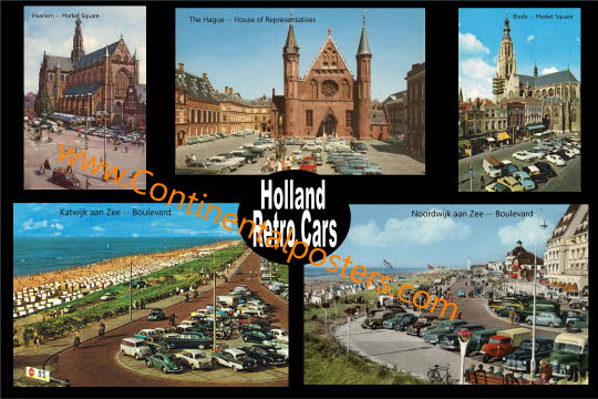 Holland Retro Cars 50ties and 60ties