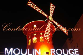 Moulin Rouge Paris art Poster