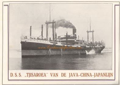 s s tjisaroea van de java china japan lijncp