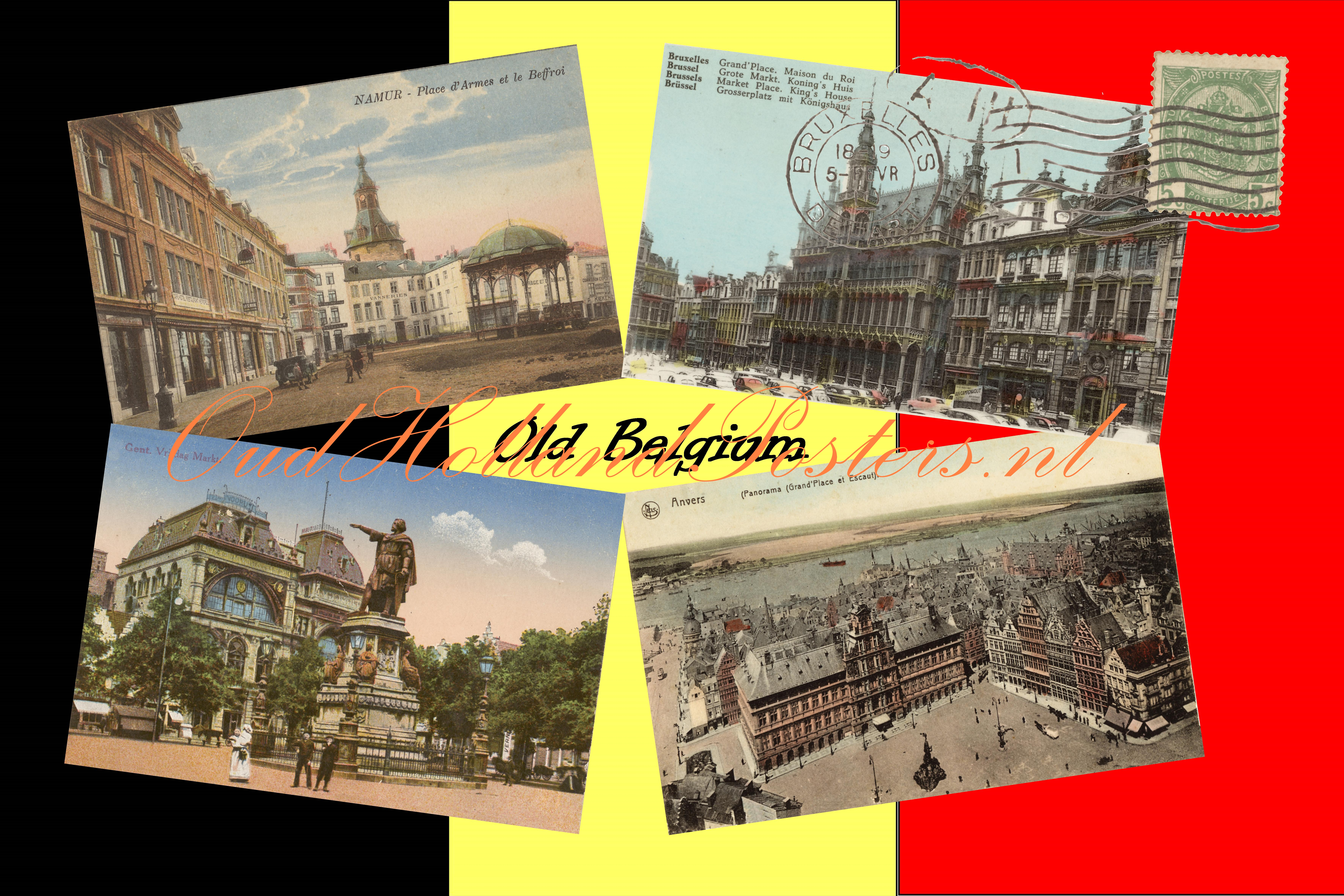 Old Belgium 1, with Brussels, Antwerp, Gent, Namen